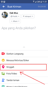 Cara Melacak Lokasi Seseorang Dari Facebook