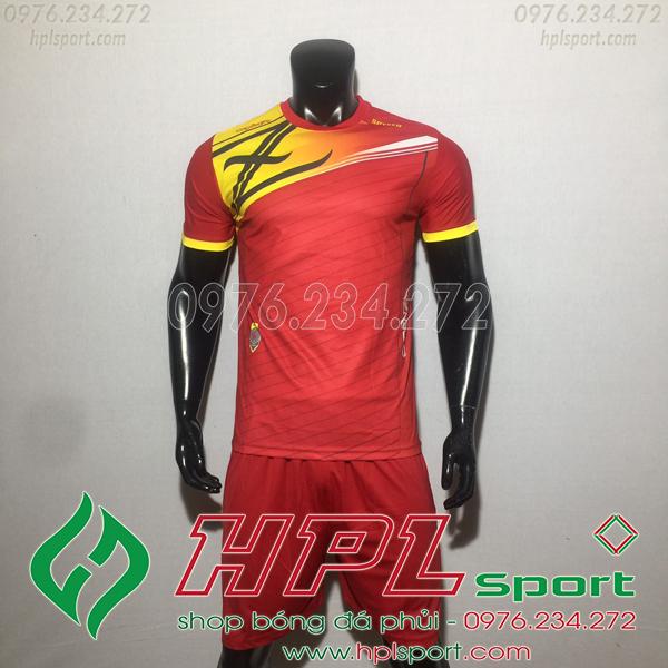 Áo bóng đá ko logo Zavikia HAT TA Màu Đỏ