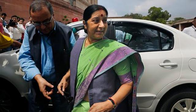 @Sushma Swaraj AIIMS because of Kidney transplant