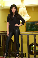 Shruti Haasan Looks Stunning trendy cool in Black relaxed Shirt and Tight Leather Pants ~ .com Exclusive Pics 021.jpg