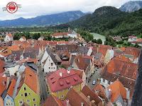 Füssen, Baviera (vistas desde la torre del castillo)