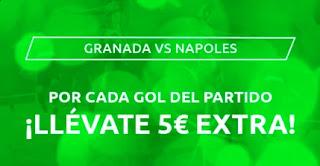 Mondobets promo Granada vs Napoles 18-2-2021