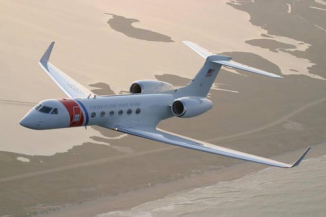 Coast Guard orders C37 aircraft