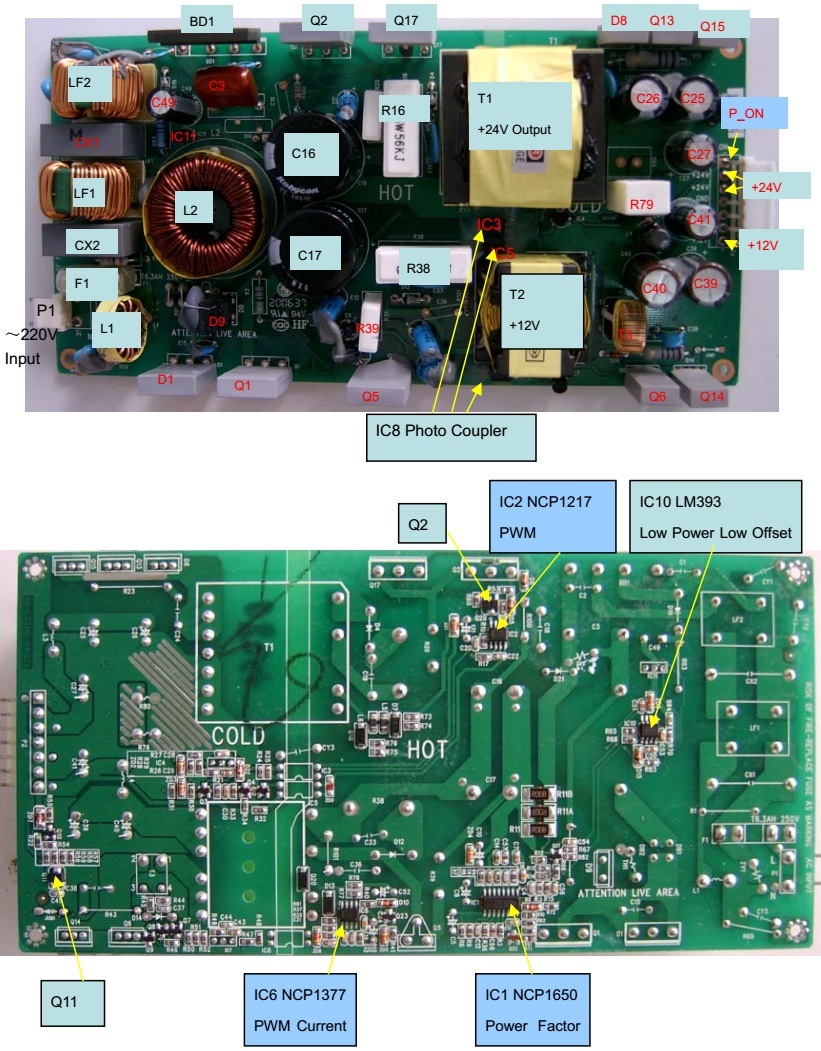 TCL LCD TV SMPS – PWL3711C – repair procedure and the working ...