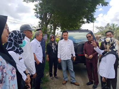 Komisi III DPRD Pringsewu Sidak ke Titik Pembuangan Sampah Ilegal