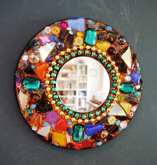 Mosaic Mirror Library Arts
