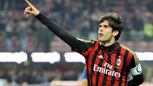 Best players in AC Milan History - Kaka