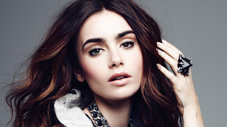 Lily Collins, Beautiful, 4K, #4.2652
