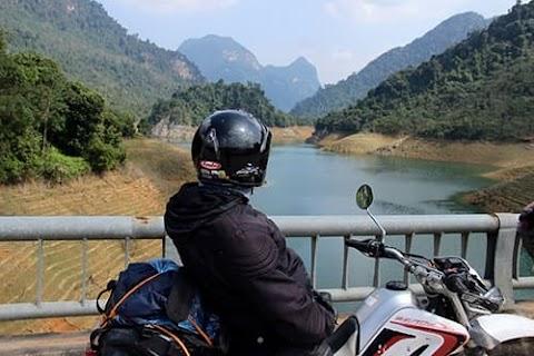 Voyage en moto à Lam Binh
