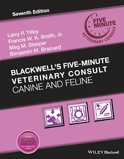 Blackwell's Five-Minute Veterinary Consult Canine and Feline 7th Edition