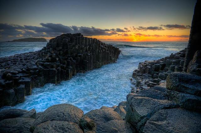 Giant's Causeway, Irlandia