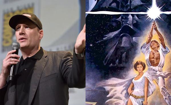 Kevin Feige ainda não está pronto para falar sobre seu filme de 'Star Wars'