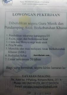 Yayasan Imagine adalah sebuah yayasan yang ada di kota Padang, Provinsi Sumatera Barat