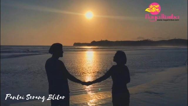 Romantika Sun Set Pantai Serang Blitar