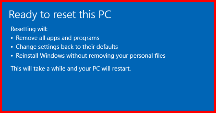 How To Reset Windows 10 With And Without Password?