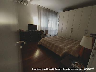 camera matrimoniale con bagno interno e terrazza- Grosseto Invest di Luigi Ciampi👈 5 VANI - VENDITA GROSSETO - gorarella