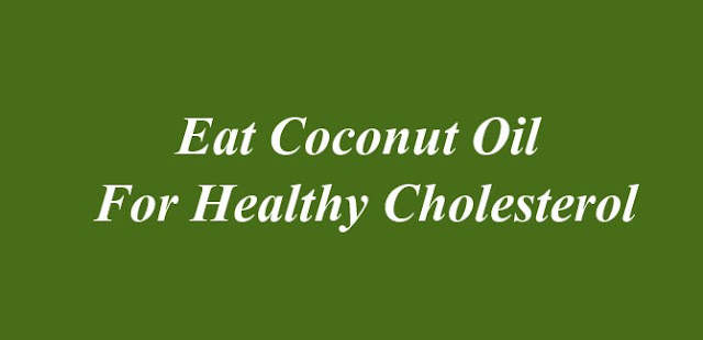 Coconut Oil For Cholesterol