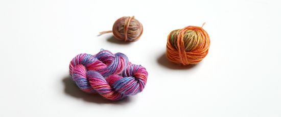 Small Amounts of Plymouth Zino Yarn