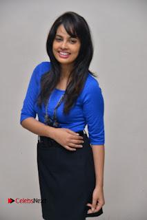 Actress Nandita Swetha Stills in Black Mini Skirt at Ekkadiki Potavu Chinnavada Movie Special Show  0040.JPG