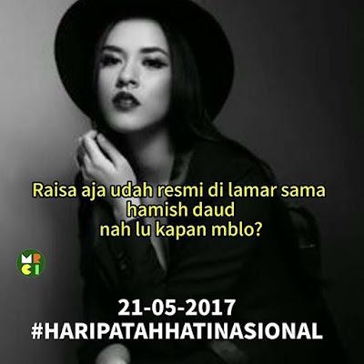 15 Meme 'Tunangan Raisa dan Hamish' Ini Sukses Bikin Hari Patah Hati Nasional