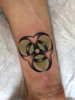 biohazard tattoo
