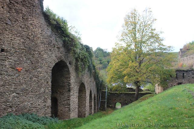 Castles on the Rhine - Rheinfels Castle St.Goar