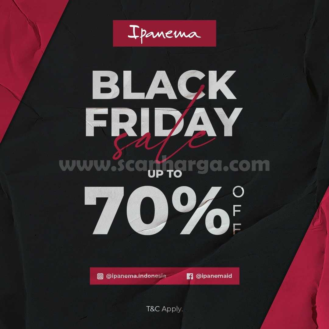 Ipanema Promo Black Friday Sale Up to 70% Off