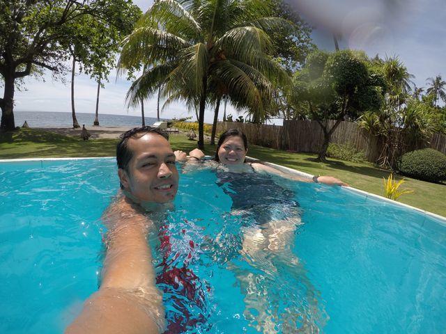 Swimming at Atmosphere Resorts & Spa