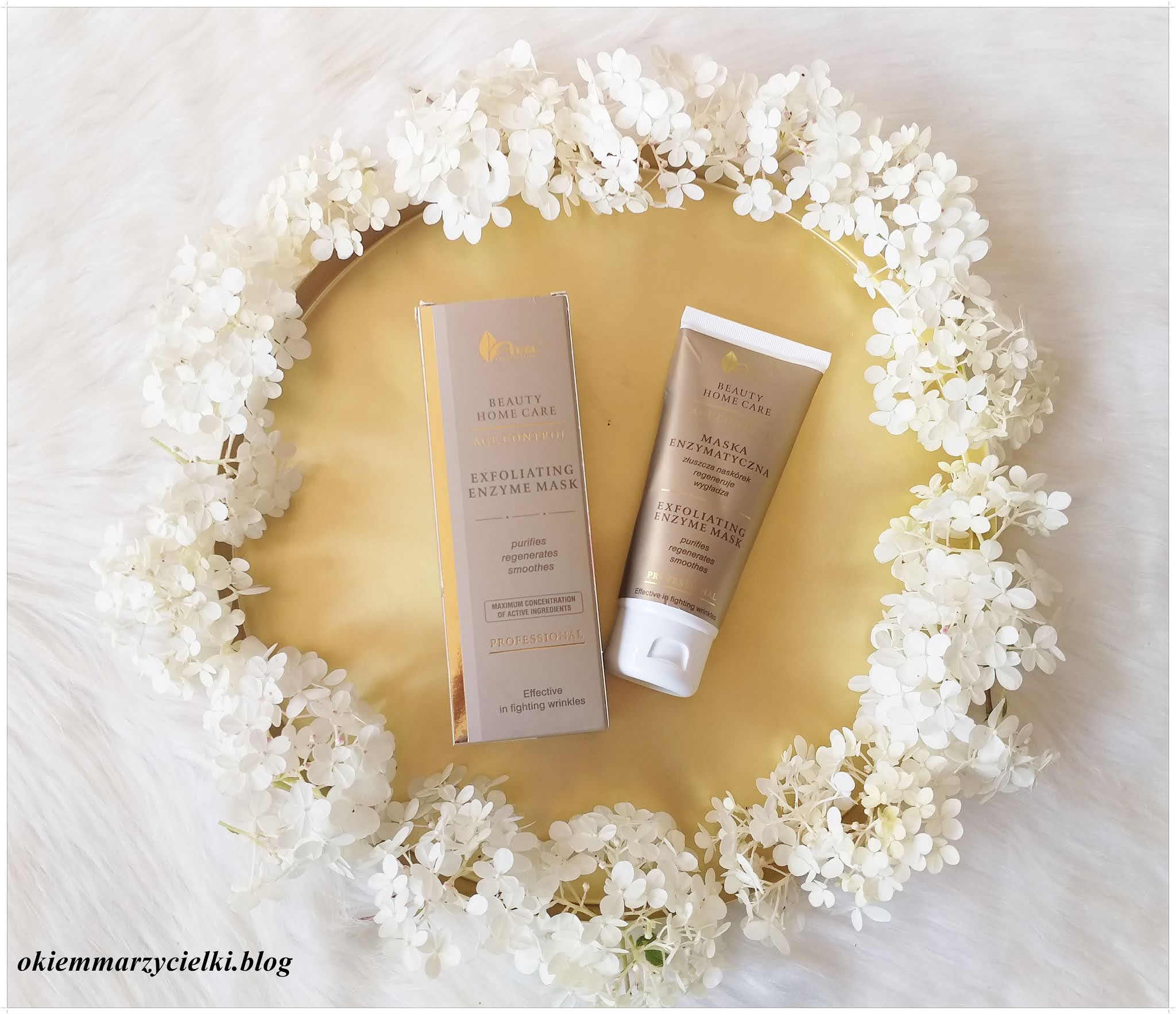 Ava Laboratorium Beauty Home Care-Maska enzymatyczna-recenzja #134