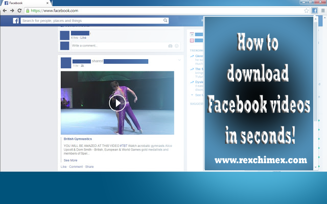 how to download video from facebook to computer 2016