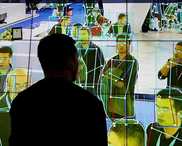 A China quer ficar com os sistemas de policiamento facial que oferece a outros