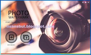 Photo Watermark software