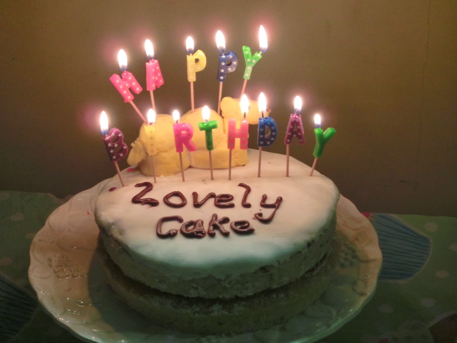 The Benefice Blog Happy Birthday Lovely Cake