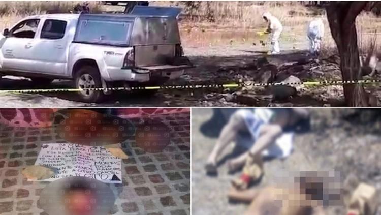 """La sanguinaria batalla entre el CJNG y """"El Marro"""" tiene a Guanajuato sumido en la barbarie; en menos de 24 horas dejan 22 ejecutados"""