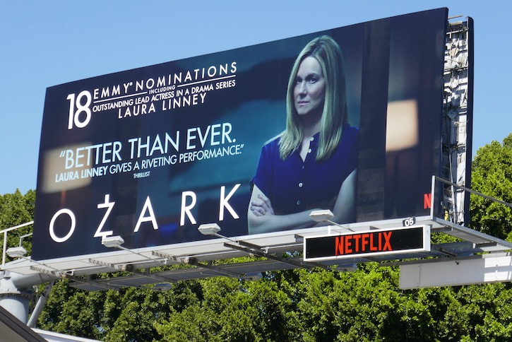 Laura Linney Ozark s3 Emmy nominee billboard
