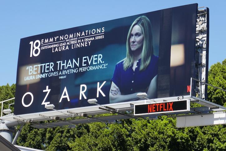 Laura Linney Ozark s3 Emmy nominee billboard