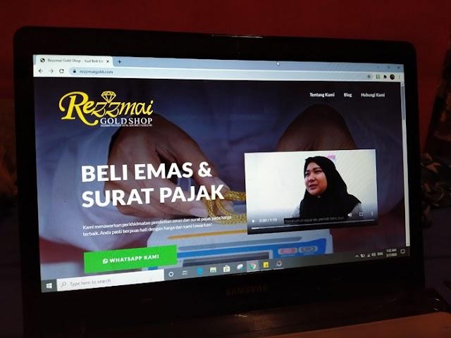 Perkhidmatan Beli Surat Pajak di Rezzmai Gold Shop