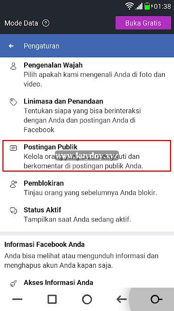 Cara Mengubah Tombol Tambahkan Teman Menjadi Ikuti di FB Lite
