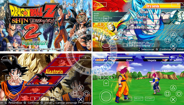 download Game Dragon Ball Z Mod Shin Budokai 4 ISO PPSSPP