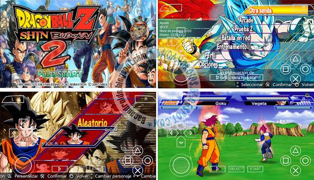 download Game Dragon Ball Z Mod Shin Budokai 4 ISO PPSSPP
