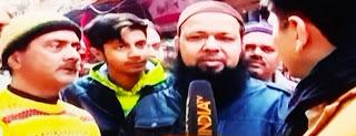 मुस्लिमों कां केजरीवाल को भारी समर्थन
