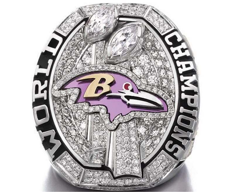 Baltimore Ravens Super Bowl Ring