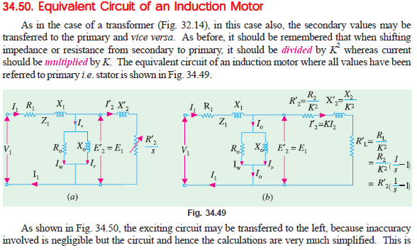 Working of three phase induction motor as a genralized transformer read the next topiccircle diagram for series circuit of three phase induction motor under the label electrical machine ccuart Images