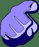 Waarschuwende vinger-Pillen doormidden breken mag niet