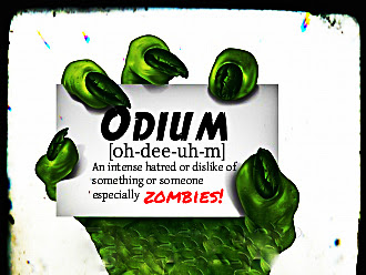 Odium? Summer of Zombie Continues with Claire C Riley
