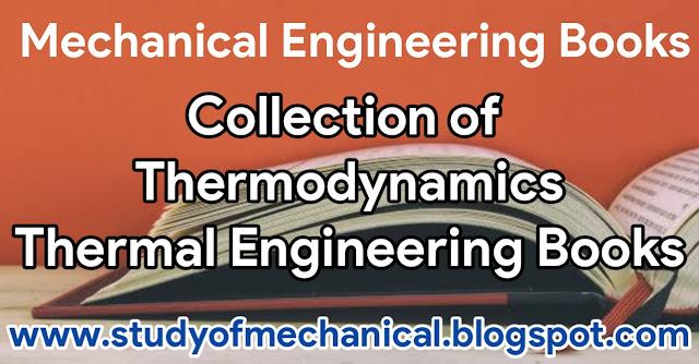 Thermodynamics | Thermal Engineering Books PDF