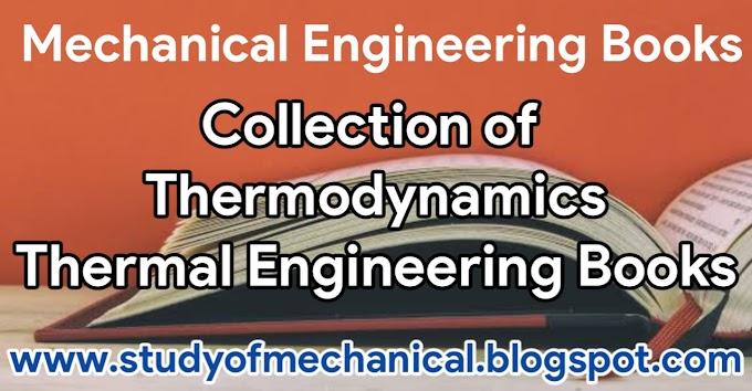 Thermodynamics Books | Thermal Engineering Books