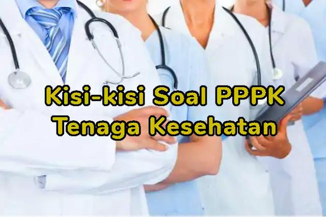 Soal P3K (PPPK) Tenaga Kesehatan