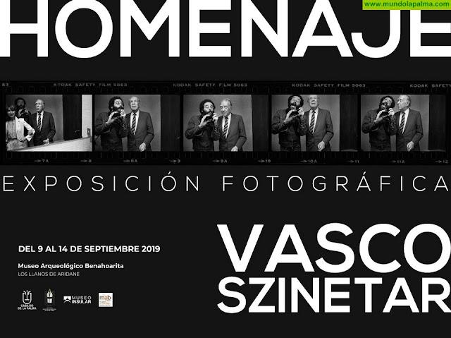 El Cabildo trae a La Palma la exposición 'Homenaje', del fotógrafo Vasco Szinetar