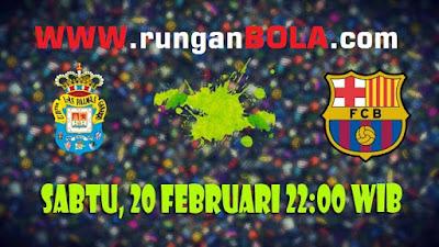 Prediksi Akurat Las Palmas vs Barcelona 20 Februari 2016